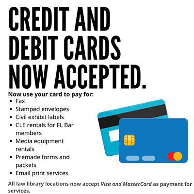 Credit Card now accepted graphic